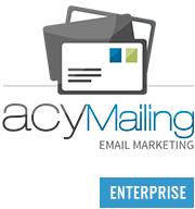 قویترین ارسال کننده خبرنامه و ایمیل جوملا acymailing enterprise